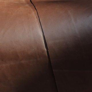 キューグリップ革巻き用 牛革型押し ブラウン No.57