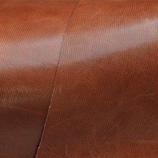 キューグリップ革巻き用 牛革型押し ブラウン No.61