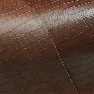 キューグリップ革巻き用 牛革型押し ブラウン No.66