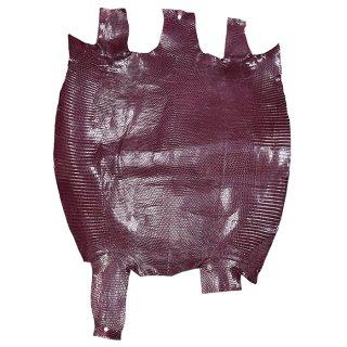 プレミアム・レザー トカゲ革/Lizard(ワインレッド)