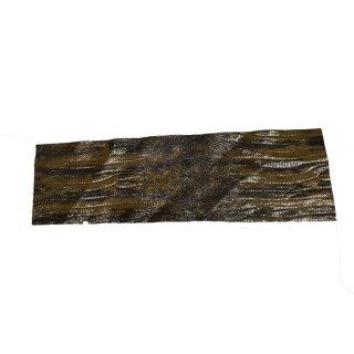 キューグリップ革巻き用 エナメル質 光沢 茶 豚革型押し Grip-Pig-01