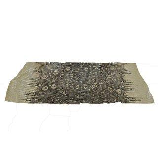 キューグリップ革巻き用 エナメル質 光沢 ナチュラル トカゲ革型押し Grip-Lizard-11