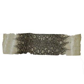 キューグリップ革巻き用 エナメル質 光沢 ナチュラル トカゲ革型押し Grip-Lizard-12