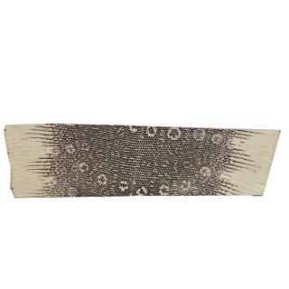 キューグリップ革巻き用 エナメル質 光沢 ナチュラル トカゲ革型押し Grip-Lizard-17