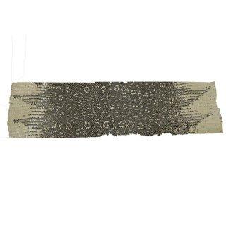 キューグリップ革巻き用 エナメル質 光沢 ナチュラル トカゲ革型押し Grip-Lizard-18