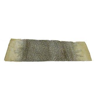 キューグリップ革巻き用 エナメル質 光沢 イエロー トカゲ革型押し Grip-Lizard-22