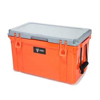 HYAD クーラーボックス47QT (約45.5L) ブラッドオレンジ