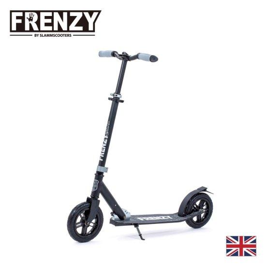 【Frenzy / フレンジー】大人用  キックボード 折りたたみ可能  専用ストラップ付き  205mm Pneumatic Plus  ラッピング対象商品