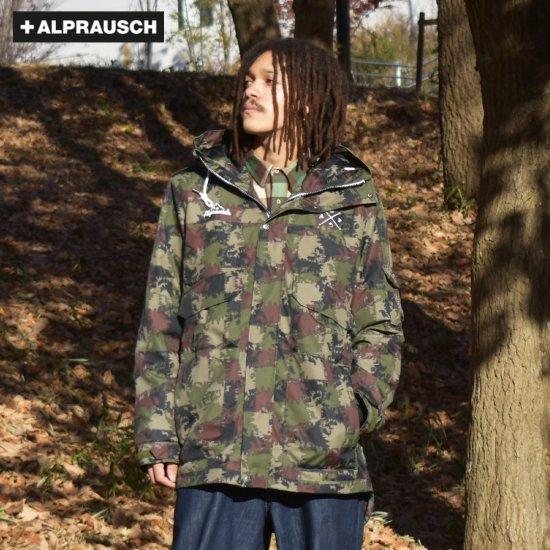 【アルプラウシュ / Alprausch】メンズ モッズコート  Warmibaschi Functional jacket