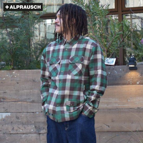【アルプラウシュ / Alprausch】メンズ  シャツ ジャケット 中綿シャツ  Timmeeh Man Padded Jacket