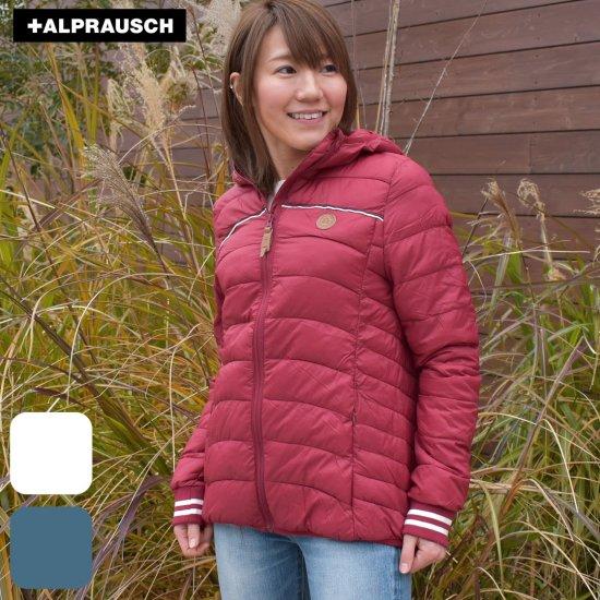 アルプラウシュ レディース ショートダウン Alprausch all mini antli padded jacket