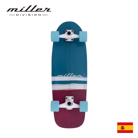 ミラーディヴィジョン サーフスケート ムンダカ 30インチ スケートボード コンプリートデッキ Miller Division SURF SKATE Mundaka 30