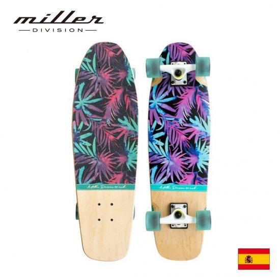 ミラーディヴィジョン サーフスケート コンプリートスケートボード クルーザーデッキ Miller Division MAUI29