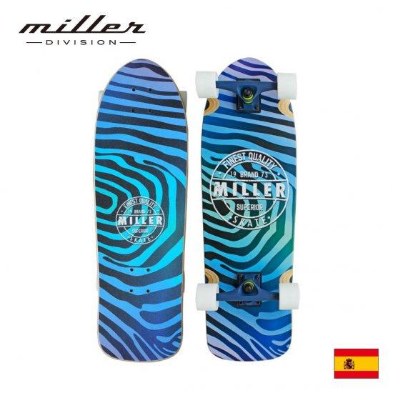 ミラーディヴィジョン サーフスケート コンプリートスケートボード クルーザーデッキ Miller Division TAILBLOCK