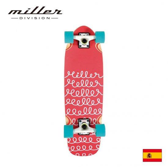 ミラーディヴィジョン ループ サーフスケート コンプリートスケートボード クルーザー デッキ Miller Division LOOP