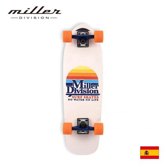 ミラーディビジョン コンプリート スケートボード クルーザーデッキ Miller Division SUNRISE