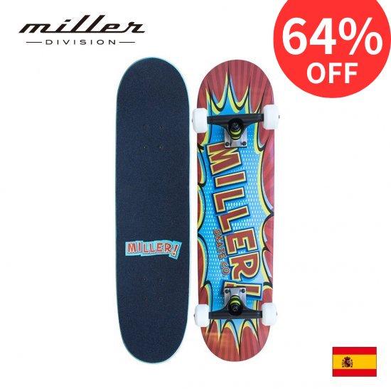 ミラーディビジョン コミック スケートボード コンプリート Miller Division COMIC