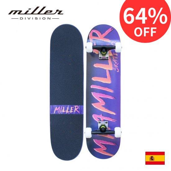 ミラーディビジョン マイアミラー スケートボード コンプリートスケートボード Miller Division MIAMILLER