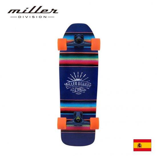 ミラーディヴィジョン アグアス カリエンテス コンプリートスケートボード サーフスケート Miller Division AGUAS CALIENTES