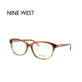 NINE WEST NW5097AF サイズ:54 645 Red/Brown Horn Gradient レッド/ブラウンホーングラディエント