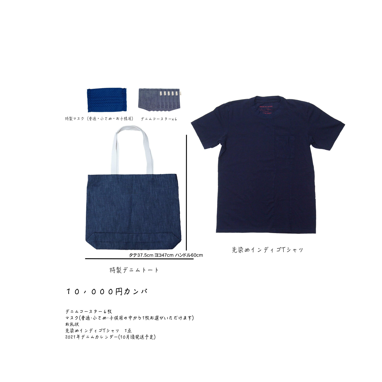 10,000円カンパ(Tシャツセット)