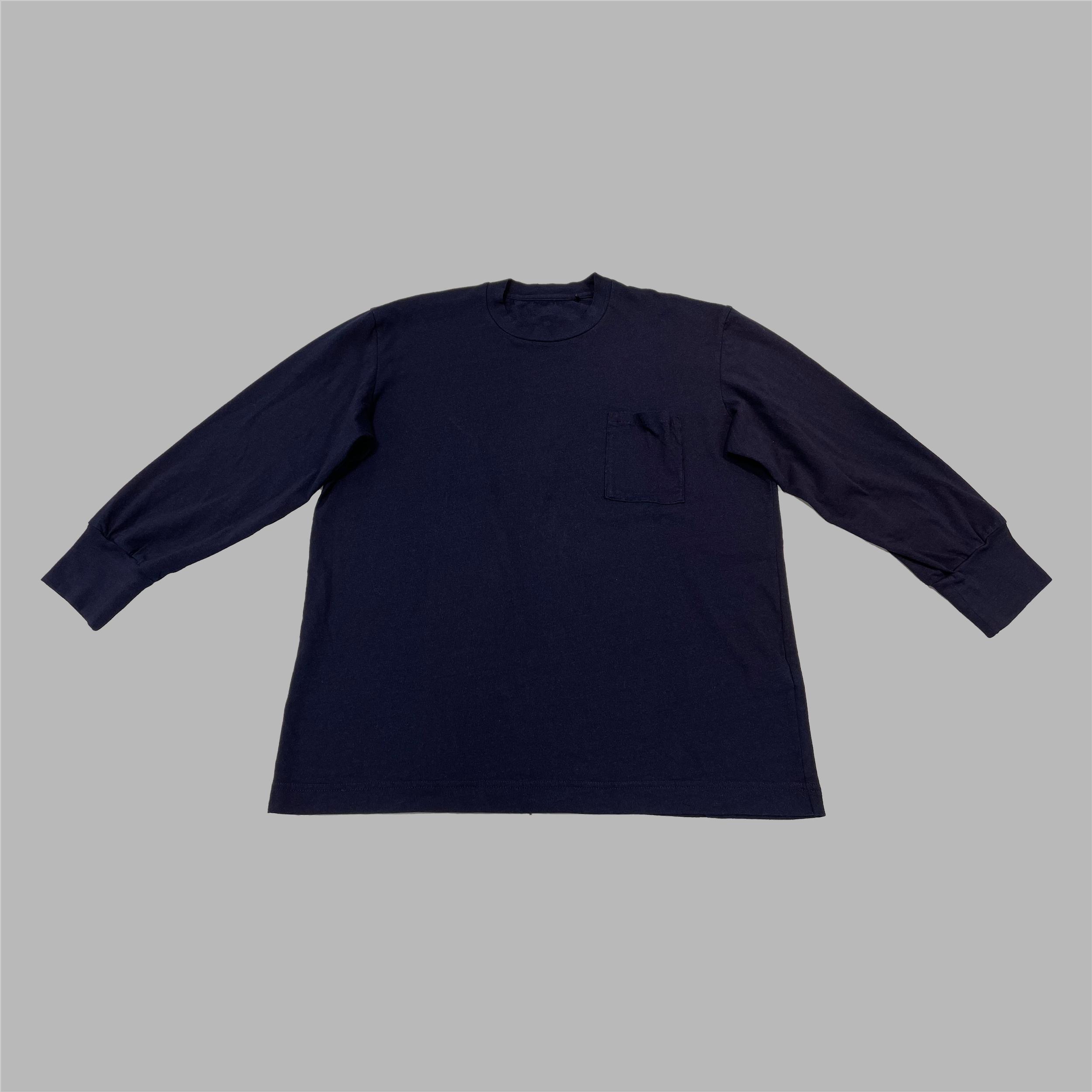 ビッグTシャツ(先染めインディゴ)