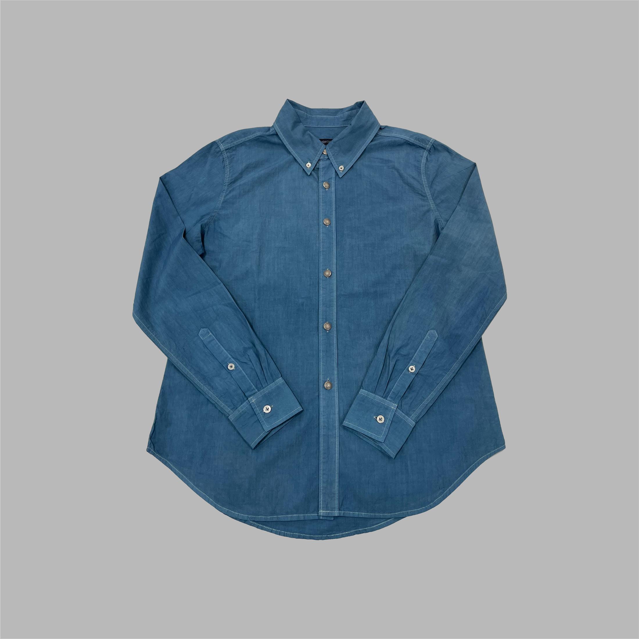 ボタンダウンシャツ(AIZOME)