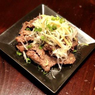 牛スジ肉のふわとろ焼き