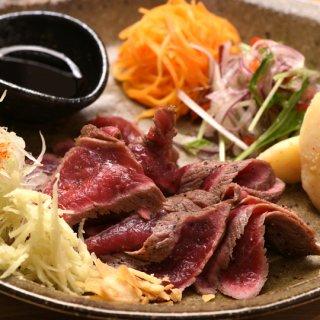 神戸ビーフのたたき