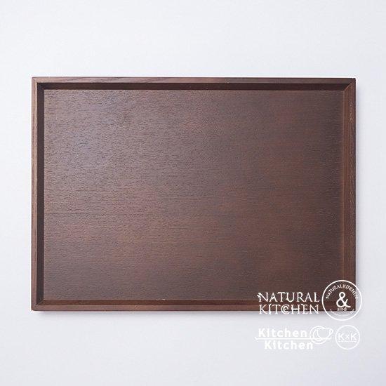 木製トレー ブラウン