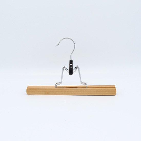 木製ズボンハンガー