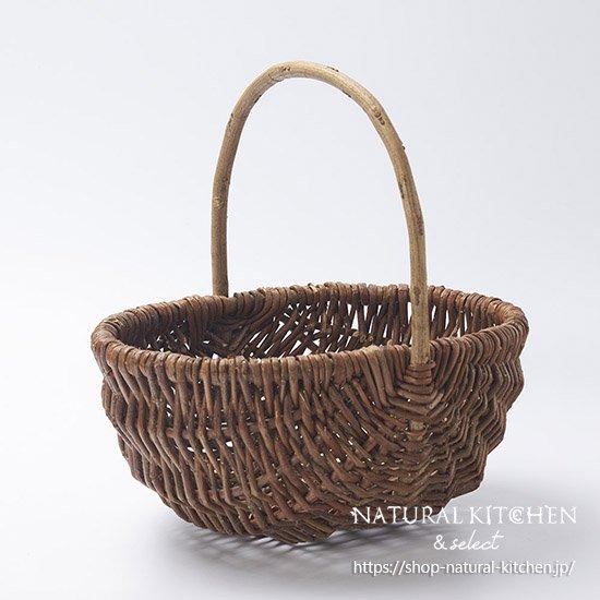 柳つる編みバスケットL