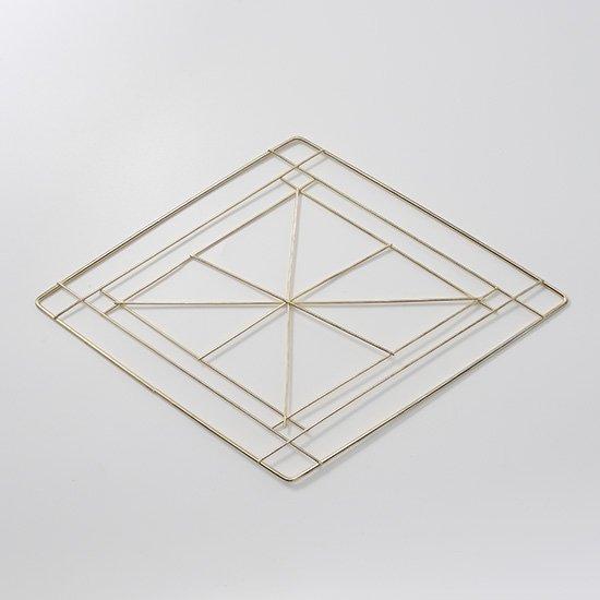 アイアンリースフレーム菱形