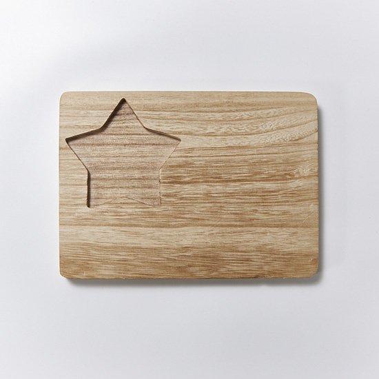 木製トレーエンボススター