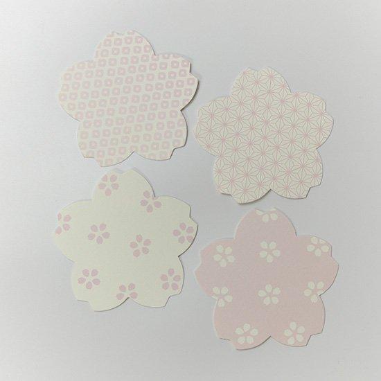 ペーパーコースター桜4枚セット