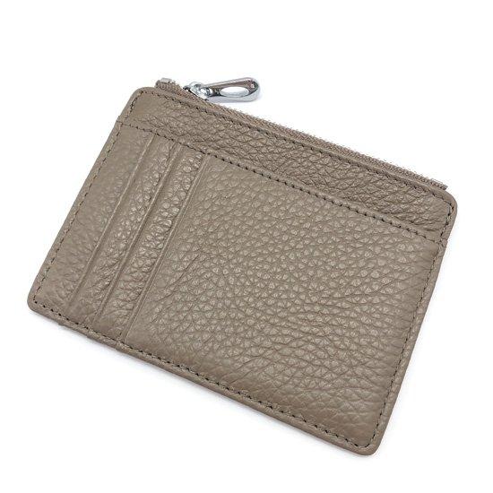 本革シンプルミニ財布 ブラウン