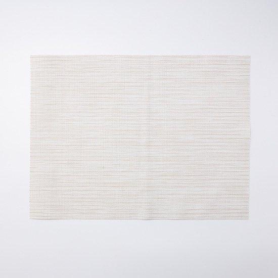 メッシュランチマット織り模様ベージュ