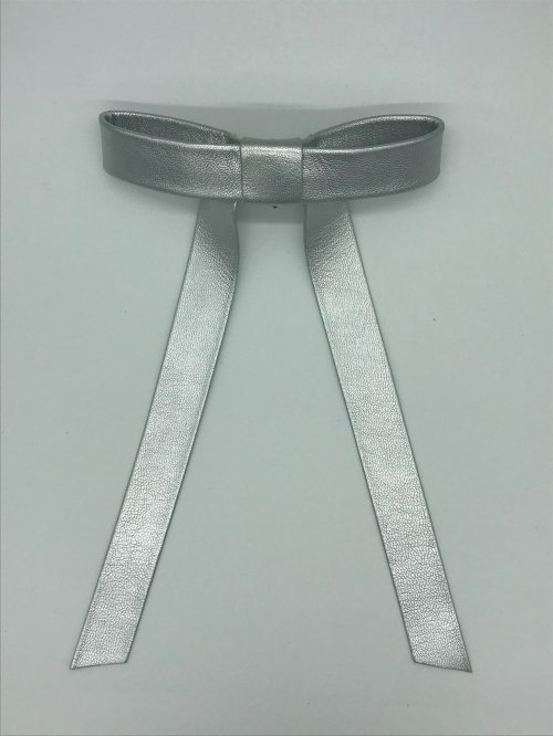 long ribbon hook SILVER