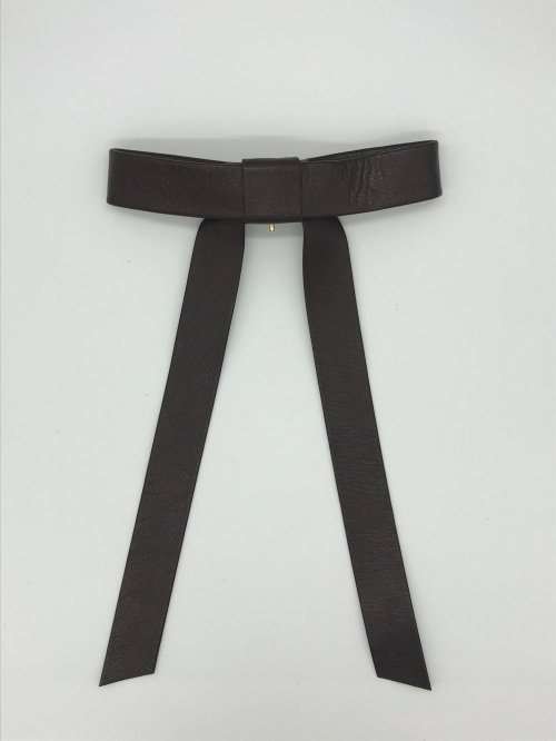 long ribbon hook BROWN