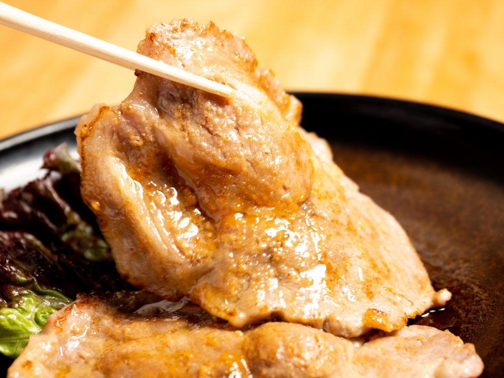 【農場直送】【同梱不可】熊本ブランド豚さいき農場「熊本火の本豚」みそ漬け(約55g×5)×5パック(お肉トータル25枚) 合計約1.375kg(送料込み)