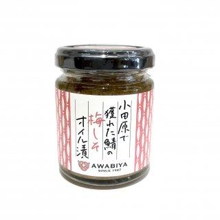 小田原で獲れた鯖のオイル漬【梅しそ】