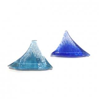 ガラス箸置き【富士山】