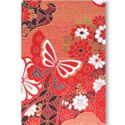 御朱印帳(Lサイズ) 赤蝶