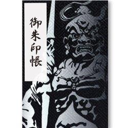 御朱印帳(Lサイズ)金剛力士像(錫色)