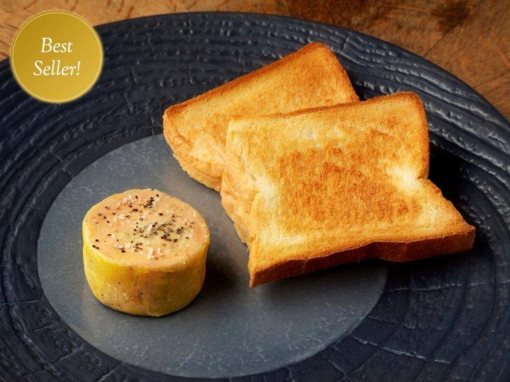 鴨フォアグラのシンプルレシピ<br />Duck foie gras terrine