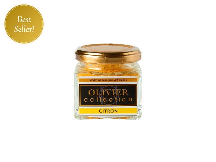 シーソルトフレーク レモン<br />Mediterranean Sea Salt Flakes<br />CITRON