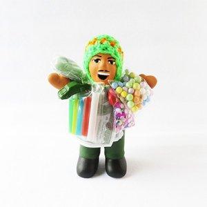 【南米雑貨・開運グッズ】幸運を呼ぶエケコおじさん人形GR/ペルー雑貨