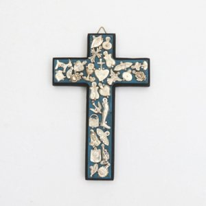 ミラグロクロス、十字架/メキシコ雑貨