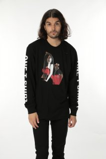 ONETSHIRT×Michael Roberts Kim & Kanye Long Sleeve T-Shirt