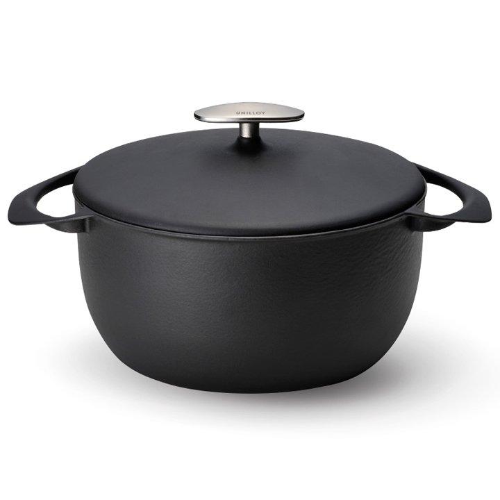 UNILLOY ホーロー鍋キャセロール 深型22�
